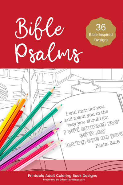 Bible Psalms Coloring Pages