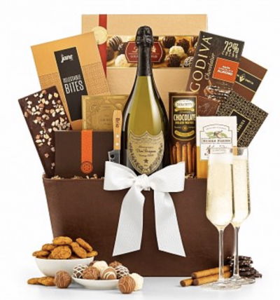 Gifts of Love Shop Royal Champagne Gift Basket