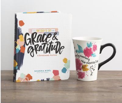 Grace & Gratitude Book & Illustrated Faith Mug Gift Set