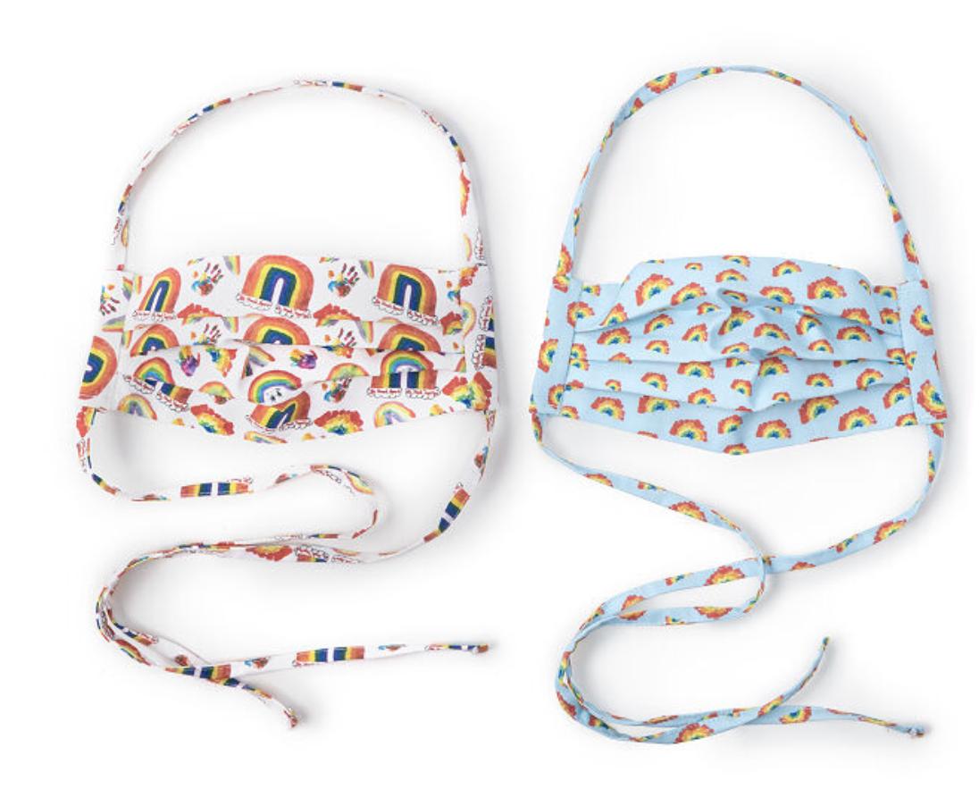 Uncommon Goods Rainbow Masks