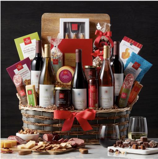Ultimate Gathering Wine Gift Basket