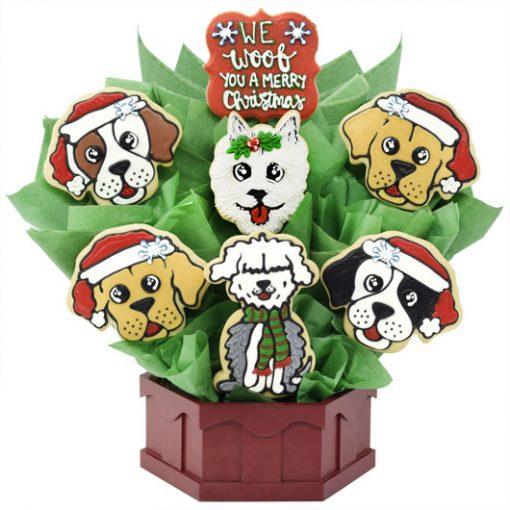 Christmas Cookies Puppies